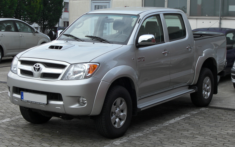 2012 Toyota Hilux Owners Manual