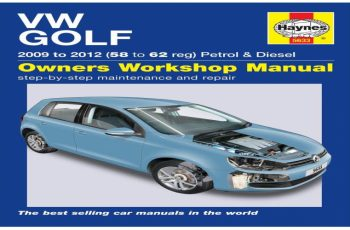 2012 VW Golf Owners Manual