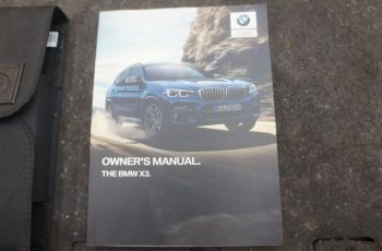 2013 BMW X3 Owners Manual