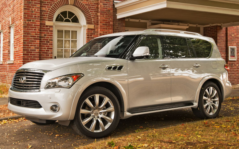 2013 Infiniti QX80 Owners Manual
