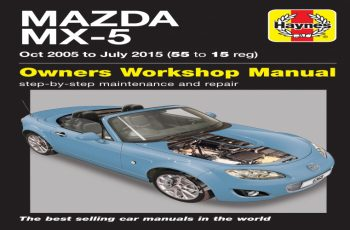 2013 Mazda MX 5 Owners Manual