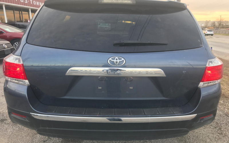 2013 Toyota Highlander Owners Manual