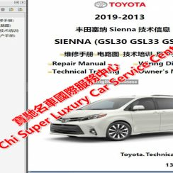 2013 Toyota Sienna Owners Manual