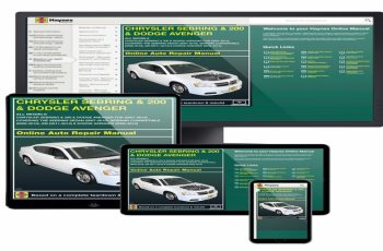 2014 Dodge Avenger Owners Manual PDF