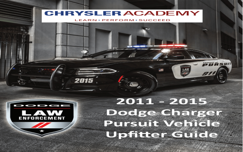 2014 Dodge Charger Pursuit Owners Manual