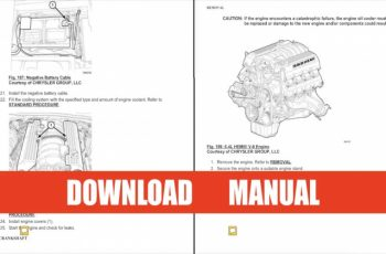 2014 Dodge Charger Service Manual PDF
