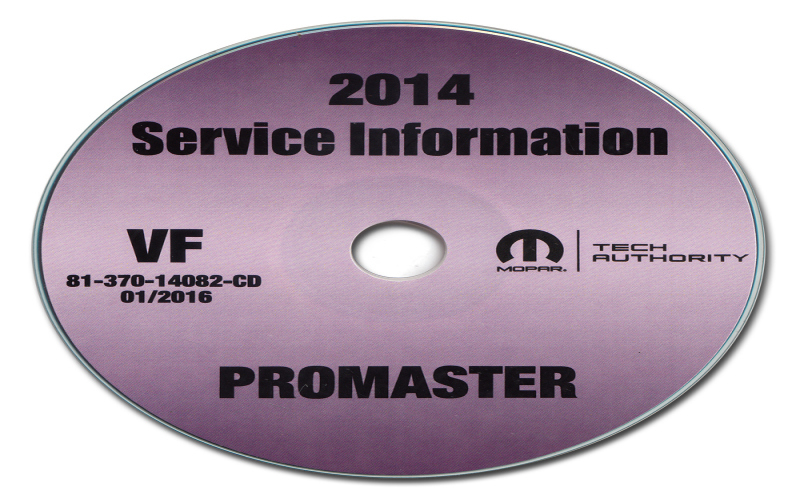 2014 Dodge Promaster Owners Manual