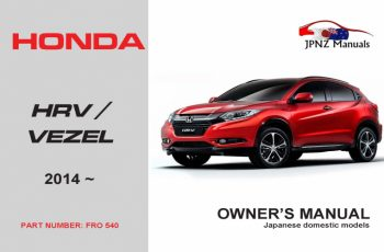 2014 Honda HRV Owners Manual