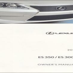 2014 Lexus ES 300H Owners Manual
