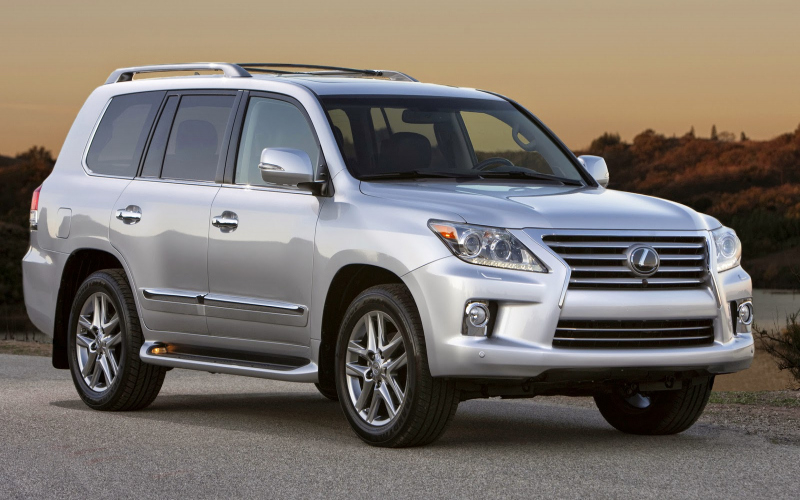 2014 Lexus LX 570 Owners Manual