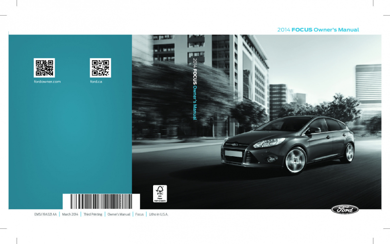 2014 Toyota Scion Owners Manual