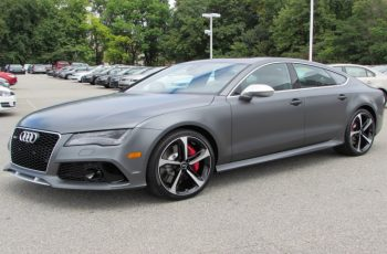 2015 Audi RS7 Owners Manual
