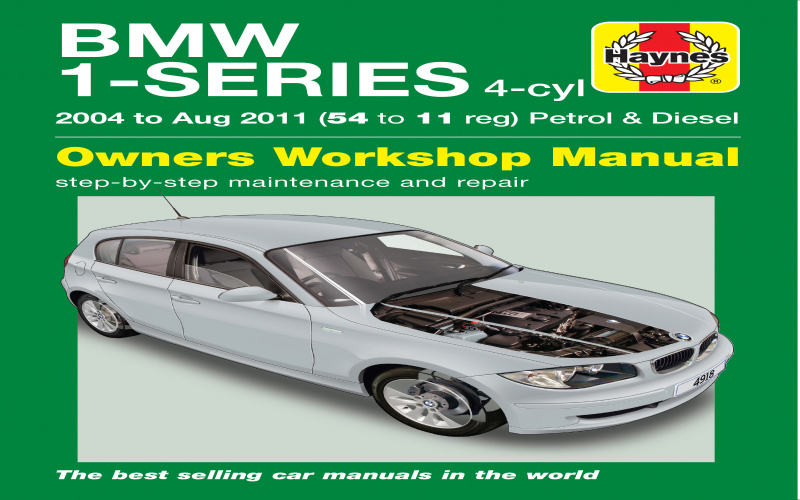 2015 BMW 1 Series Owners Manual