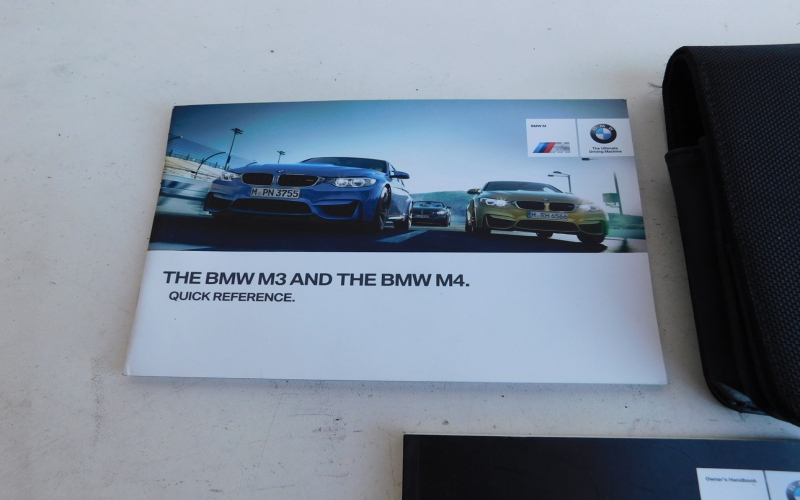2015 BMW M3 Owners Manual