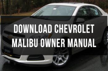 2015 Chevrolet Malibu Owners Manual