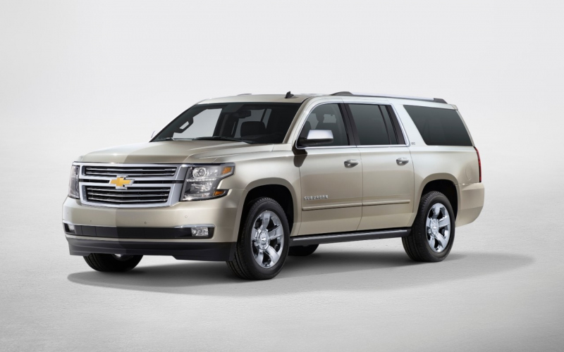 2015 Chevrolet Suburban Owners Manual