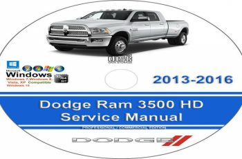 2015 Dodge 3500 Owners Manual