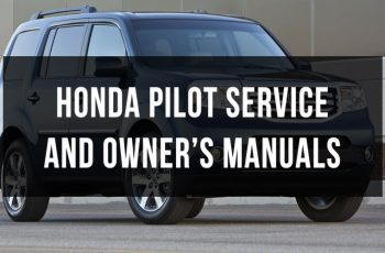 2015 Honda Pilot Owners Manual