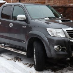 2015 Toyota Hilux Owners Manual