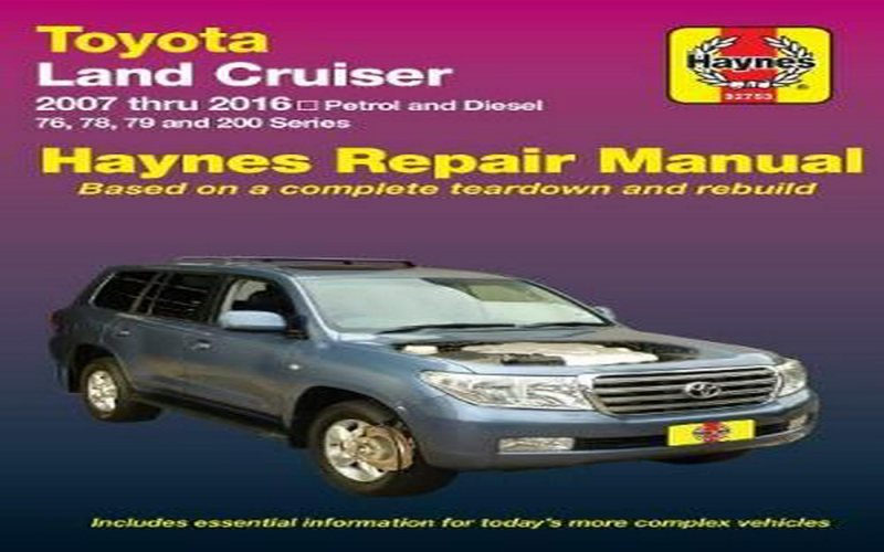 2015 Toyota Land Cruiser Owners Manual