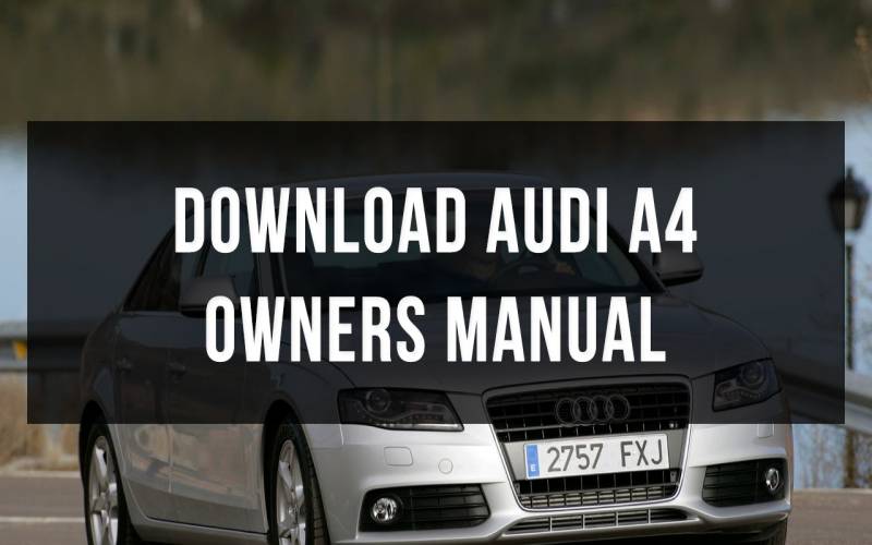 2016 Audi A4 Owners Manual