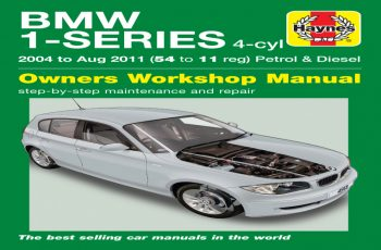 2016 BMW 1 Series Owners Manual