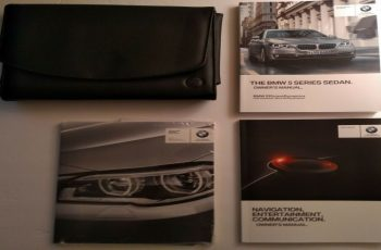 2016 BMW 5 Series Owners Manual