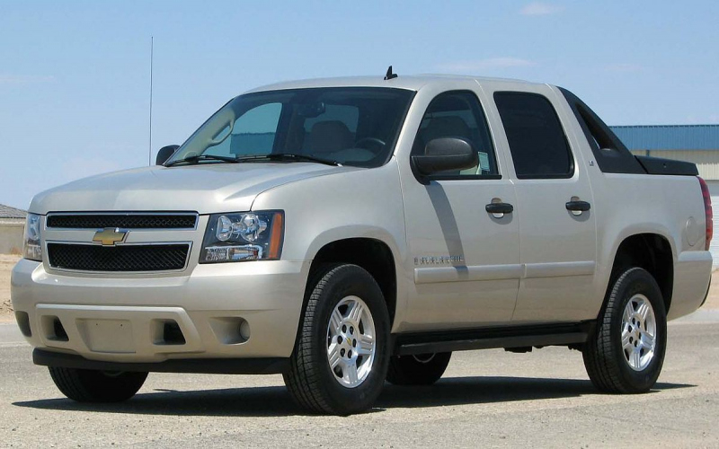 2016 Chevrolet Avalanche Owners Manual
