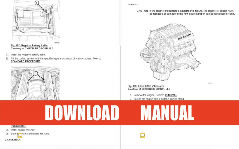2016 Dodge Challenger Service Manual PDF