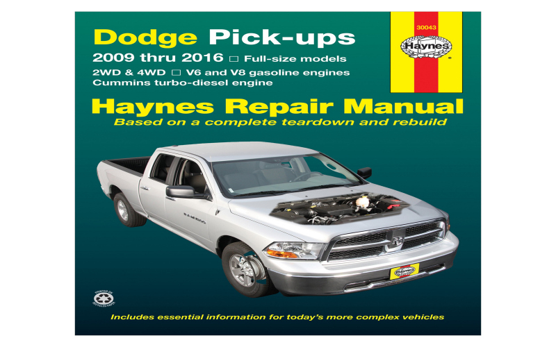 2016 Dodge RAM 2500 Diesel Owners Manual