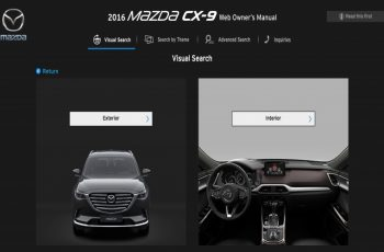 2016 Mazda CX 9 Owners Manual