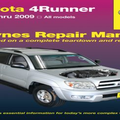 2016 Toyota Forerunner Owners Manual