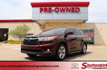 2016 Toyota Highlander Owners Manual
