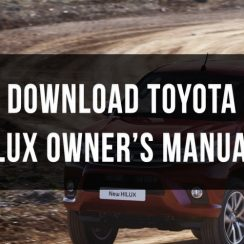 2016 Toyota Hilux Owners Manual