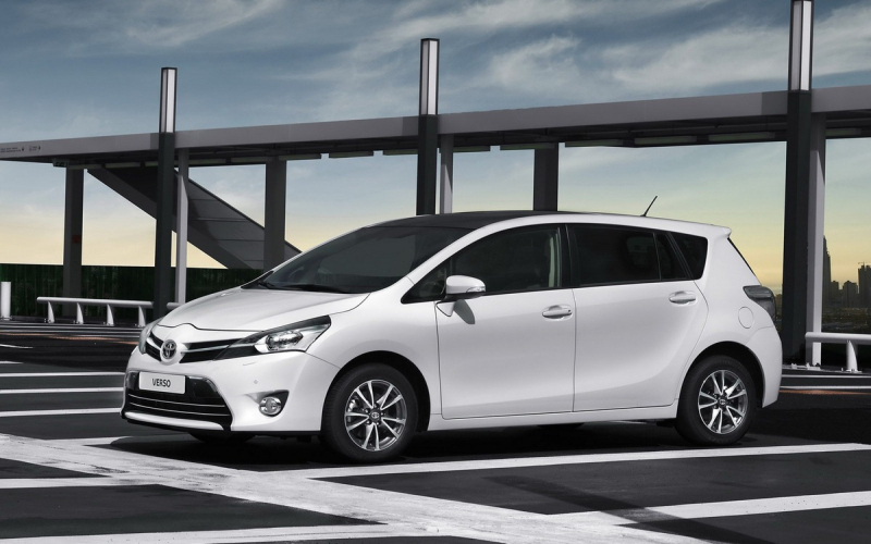 2016 Toyota Verso Owners Manual