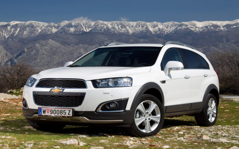 2017 Chevrolet Captiva Owners Manual