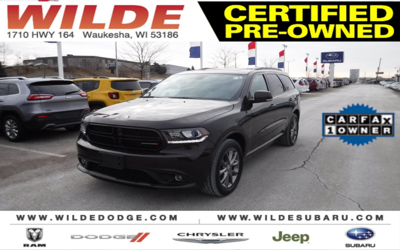 2017 Dodge Durango Gt Awd Owners Manual