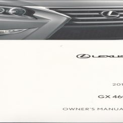 2017 Lexus GX 460 Owners Manual