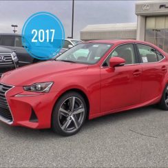2017 Lexus IS 200T Owners Manual