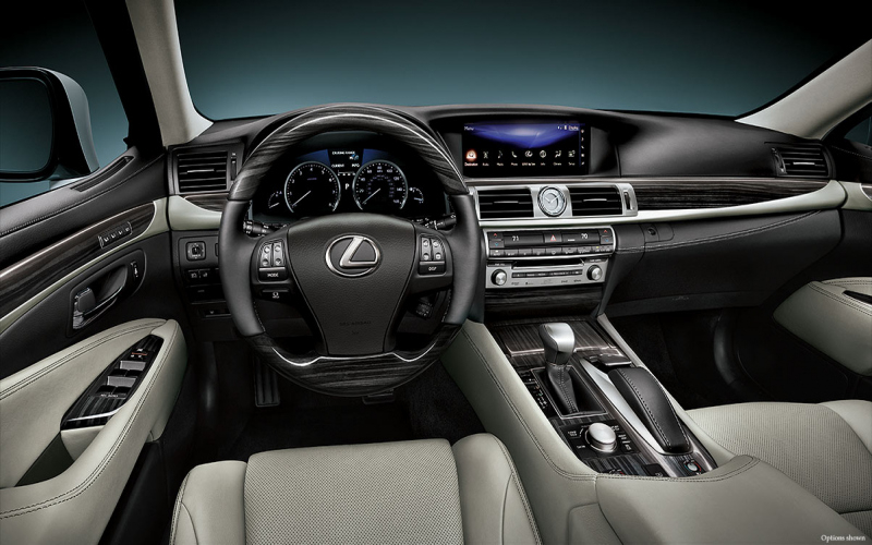 2017 Lexus LS 460 Owners Manual