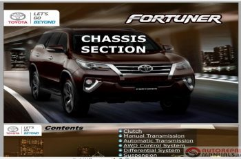 2017 Toyota Fortuner Owners Manual