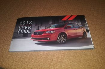 2018 Dodge Grand Caravan Owners Manual