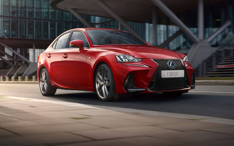 2018 Lexus IS 350 Owners Manual