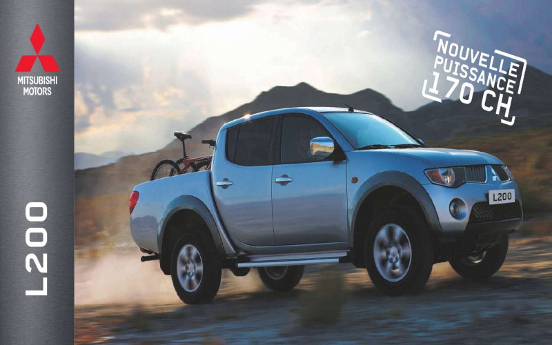 2018 Mitsubishi L200 Owners Manual