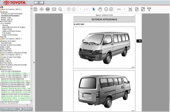 2018 Toyota Hiace Owners Manual