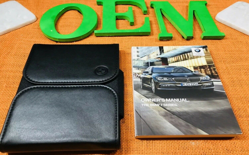 2019 BMW 7 Series Owners Manual