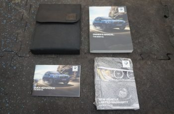 2019 BMW X3 Owners Manual