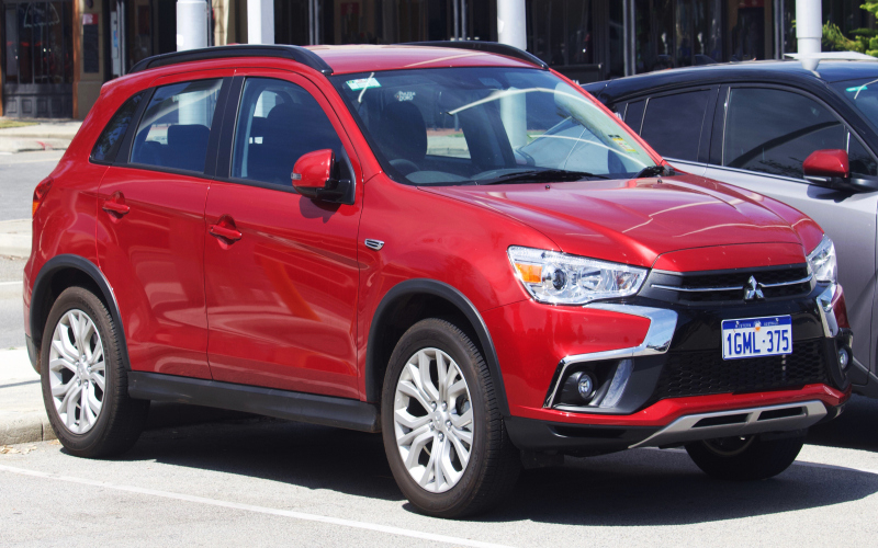 2019 Mitsubishi RVR Owners Manual