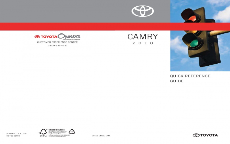 2019 Toyota Camry Owners Manual