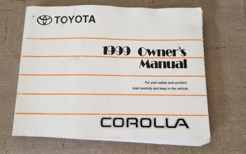 2019 Toyota Corolla Owners Manual
